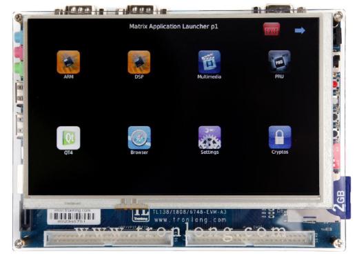 TL138FI-EVM开发板