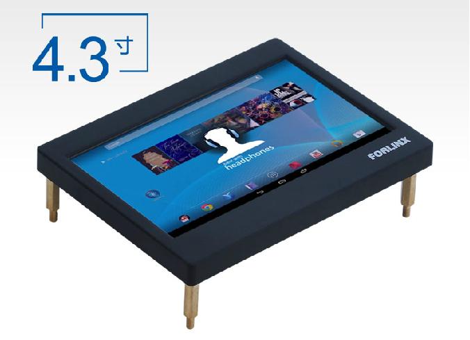 FL2440+4.3寸 LCD