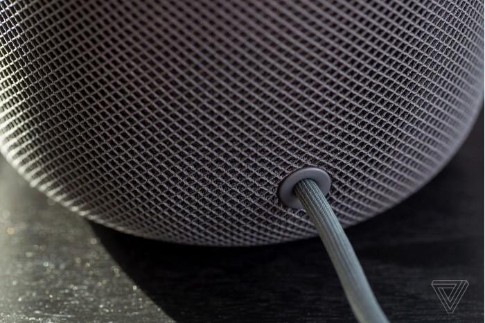 苹果:HomePod电源线可以修
